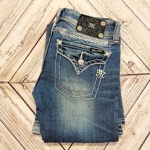 EUC Miss Me Rare Flare 26 Low Rise Wide Bootcut